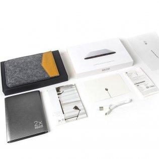 Батарея універсальна Solove A8 Power Bank 20000 mAh сіра