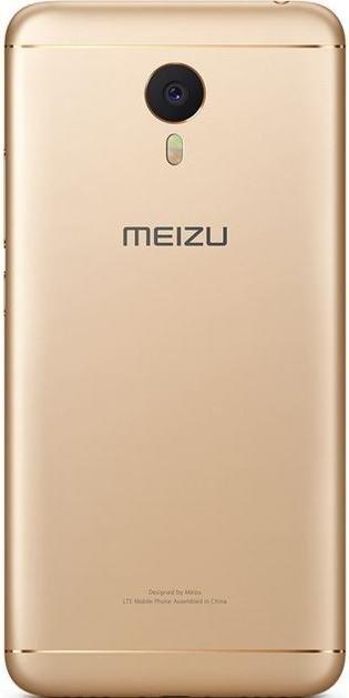 Смартфон Meizu M3 Note 3/32 ГБ золотий
