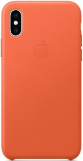 Чохол-накладка Apple для iPhone Xs - Leather Case Sunset