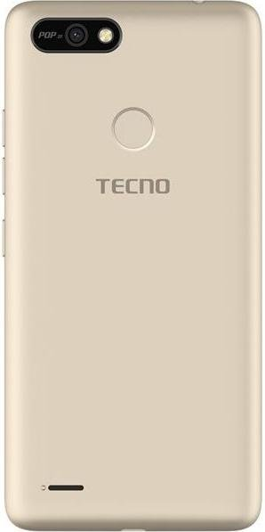 Смартфон TECNO POP 2F B1F 1/16GB Champagne Gold (4895180746666)