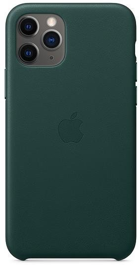 Чохол-накладка Apple для iPhone 11 Pro - Leather Case Forest Green