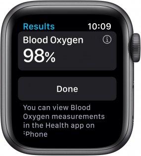 Смарт годинник Apple Watch Series 6 GPS 40mm Space Gray Aluminium Case with Black Sport Band (MG133)