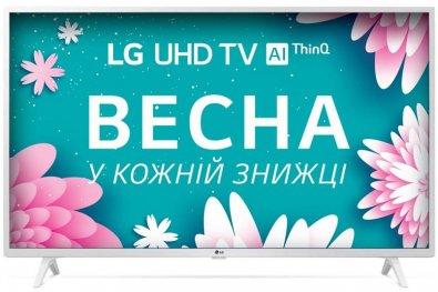 Телевізор LED LG 49UN73906LE (Smart TV, Wi-Fi, 3840x2160) White