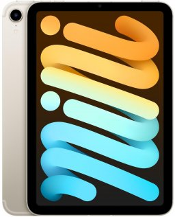 Планшет Apple iPad Mini A2568 2021 Wi-Fi Cellular 256GB Starlight (MK8H3)
