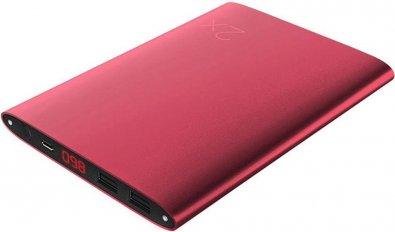 Батарея універсальна Solove A8 Power Bank 20000 mAh червона