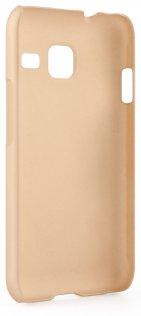 Чохол Pudini для Samsung J105 - Sand series золотий