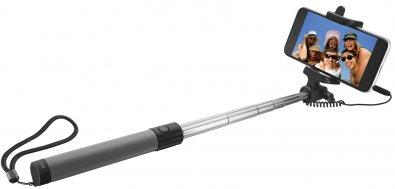 Селфі монопод Trust Urban Wired Foldable Selfie Stick чорний