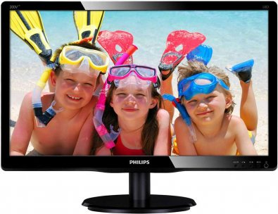 Монітор Philips 200V4LAB2/00 (200V4LAB2/00) чорний