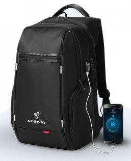 Рюкзак Ninebot by Segway з USB портом чорний