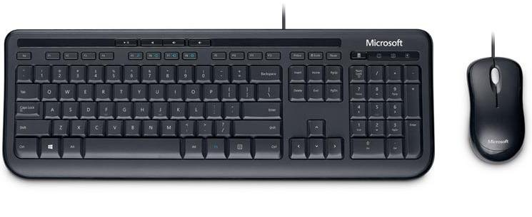 Клавіатура+миша, Microsoft Desktop 600 USB
