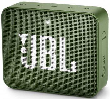 Портативна акустика JBL GO 2 Moss Green (JBLGO2GRN)