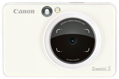 Портативна камера-принтер Canon ZOEMINI S ZV123 PW (3879C006)