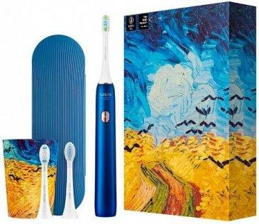 Електрична зубна щітка Soocas X3U Van Gogh Museum Design Sonic Electric Toothbrush Ocean Blue