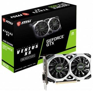 Відеокарта MSI GTX 1650 D6 Ventus XS OC (GTX 1650 D6 VENTUS XS OC)