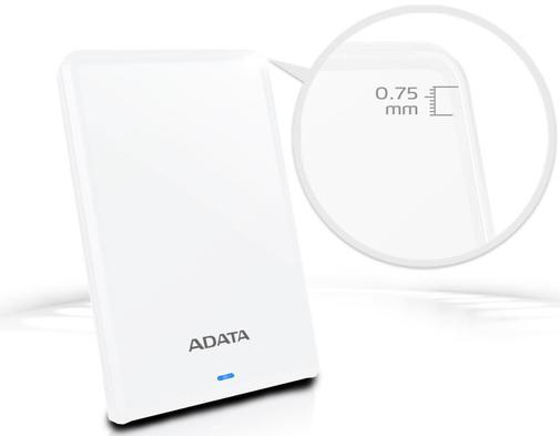 Зовнішній жорсткий диск A-Data HV620S Slim 1TB AHV620S-1TU31-CWH ...
