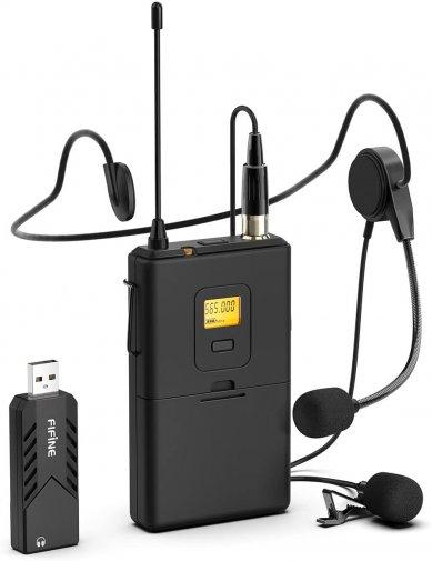 Мікрофон Fifine K031B Wireless Black