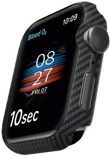 Чохол Pitaka for Apple Watch 44mm - Air Case Black/Grey Twill (kw1002A)