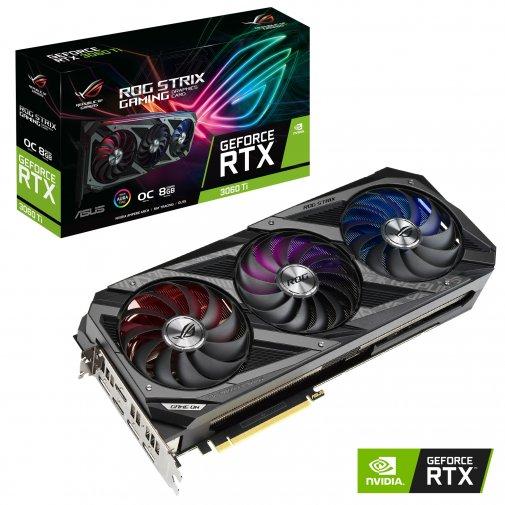 Відеокарта ASUS STRIX-RTX3060TI-O8G-GAMING