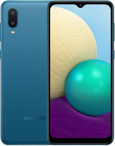 Смартфон Samsung Galaxy A02 A022 2/32GB SM-A022GZBBSEK Blue