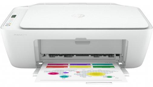 Струменевий кольоровий БФП HP DeskJet 2710 A4 з Wi-Fi