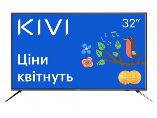 Телевізор LED Kivi 32H600GU (Android TV, Wi-Fi, 1366x768)