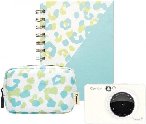 Selfie принтер Canon Zoemini S Pearl White Kit Essential (3879C014)