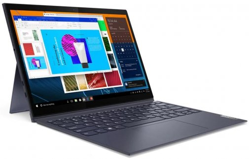 Планшет Lenovo Yoga Duet 7 Slate Grey (82AS0071RA)