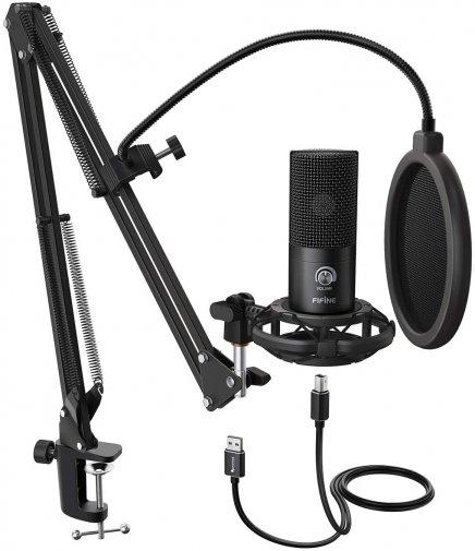 Мікрофон Fifine T669 USB Black