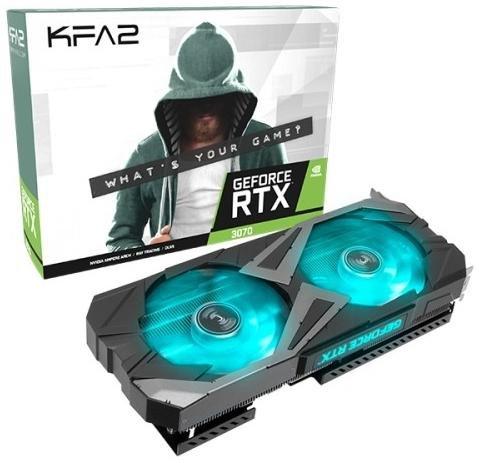 Відеокарта KFA2 RTX 3070 EX (37NSL6MD2V7K)