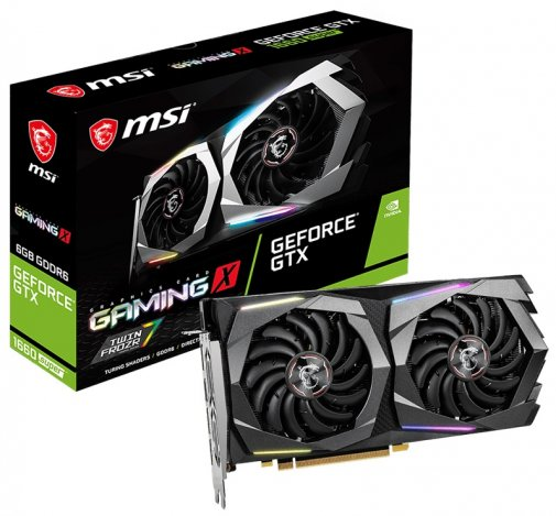Відеокарта MSI GTX 1660 Super Gaming X (GTX 1660 SUPER GAMING X)
