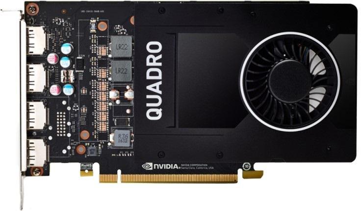 Відеокарта PNY Quadro P2200 (VCQP2200-PB)