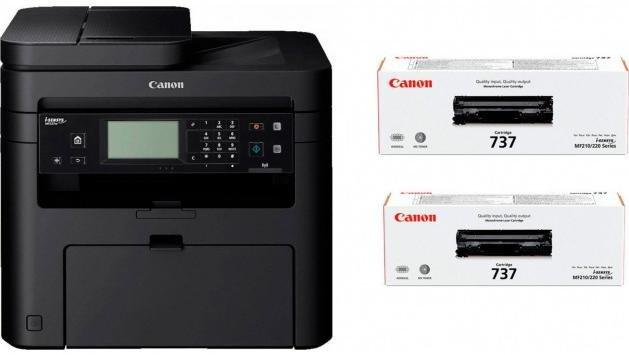 БФП Canon i-SENSYS MF237w with Wi-Fi (1418C162)