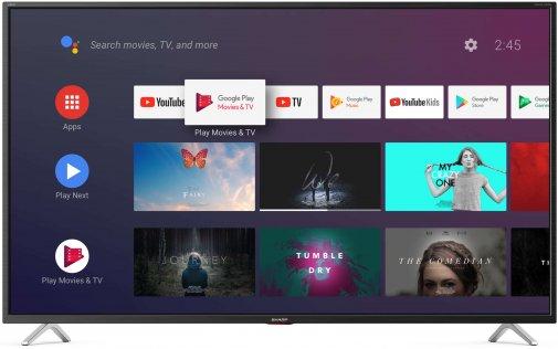 Телевізор LED Sharp 4T-C40BL5EF2AB (Smart TV, Wi-Fi, 3840x2160)