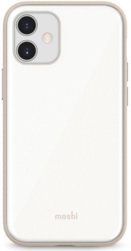 Чохол Moshi for Apple iPhone 12 mini - iGlaze Slim Hardshell Case Pearl White (99MO113106)