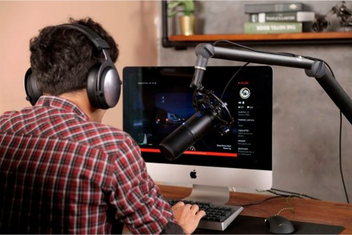 Мікрофон Thronmax Mdrill One Jet Black 48Khz (M2-B-TM01)