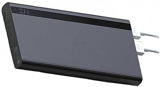 Батарея универсальная Xiaomi ZMI Powerbank 10000mAh Black – купить ...