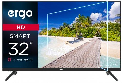 Телевизор LED Ergo 32DHS6000 (Smart TV, Wi-Fi, 1366x768)