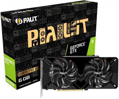 Відеокарта Palit GTX 1660 Super GP OC (NE6166SS18J9-1160A-1)