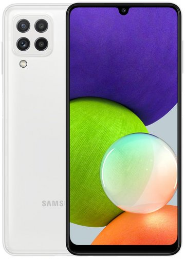Смартфон Samsung Galaxy A22 4/64GB SM-A225FZWDSEK White
