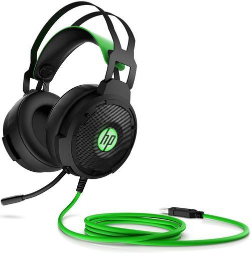 Гарнітура Hewlett-Packard Pavilion Gaming 600 Black/Green (4BX33AA)