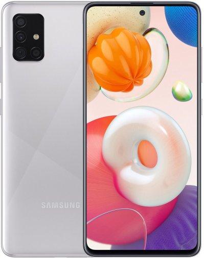 Смартфон Samsung Galaxy A51 A515 6/128GB Metallic Silver (SM-A515FMSWSEK)