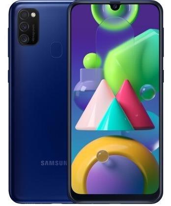 Смартфон Samsung Galaxy M21 M215 4/64GB SM-M215FZBUSEK Blue