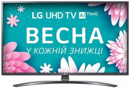 Телевізор LED LG 43UN74006LB (Smart TV, Wi-Fi, 3840x2160)