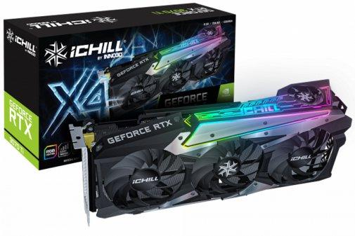 Відеокарта Inno3D RTX 3070 Ti iChill X4 (C307T4-086XX-1820VA35)