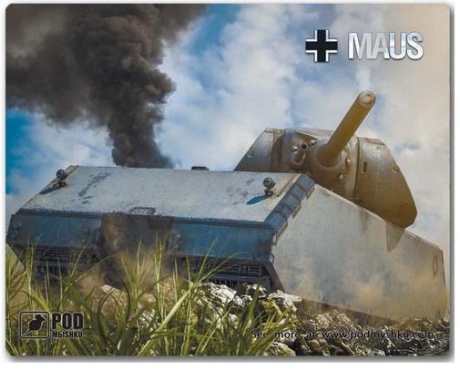 Maus — немецкий ТТ (X уровня WoT) | 407x505