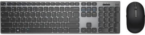 Комплект клавіатура+миша Dell KM717 Wireless Black/Gray (580-AFQF)