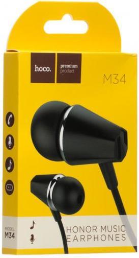 Гарнітура Hoco M34 Black