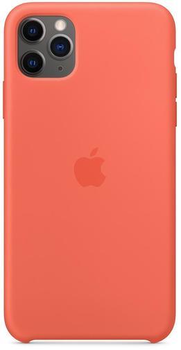 Чохол-накладка Apple для iPhone 11 Pro Max - Silicone Case Clementine(Orange)