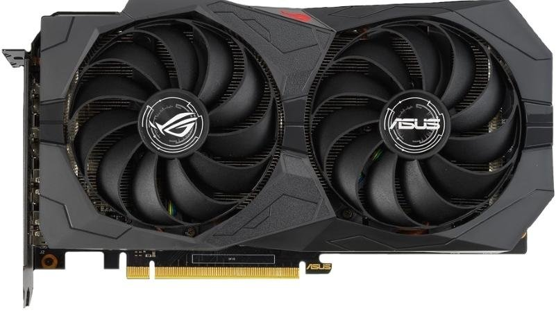 Відеокарта ASUS GTX 1660 Super Rog Strix OC (STRIX-GTX1660S-O6G-GAMING)