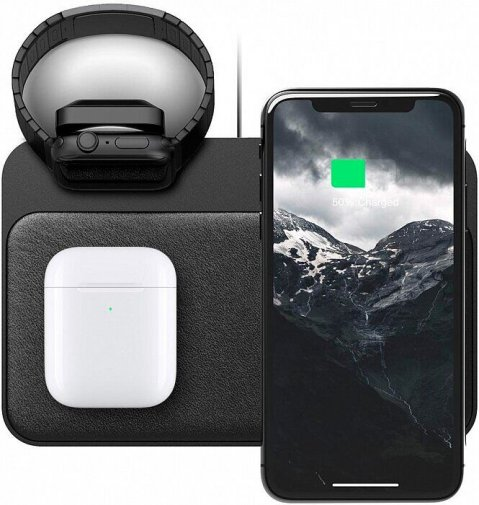 Док-станція Nomad Base Station Apple Watch Edition Stand Black